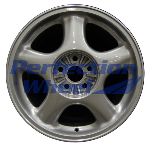 WAO.69337RE 17x9.5 Bright Fine Metallic Silver Full Face