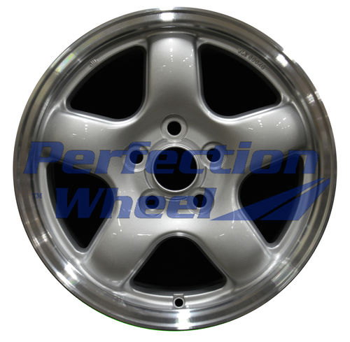 WAO.69362 16x6.5 Bright medium silver Flange Cut