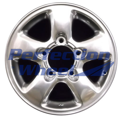 WAO.69380 16x8 Hyper Bright Smoked Silver Full Face
