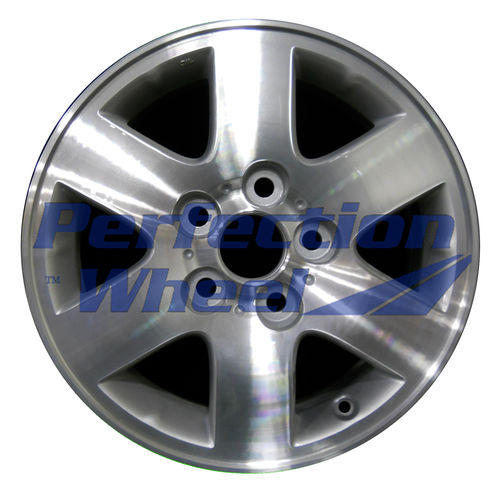 WAO.69382 15x6 Bright sparkle silver Machined