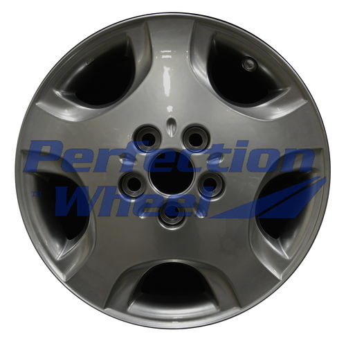 WAO.69432 16x6 Hyper Bright Smoked Silver Full Face