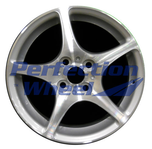 WAO.69438FT 15x6 Bright fine metallic silver Machined
