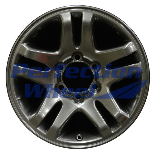 WAO.69440 17x7.5 Hyper Bright Smoked Silver Full Face