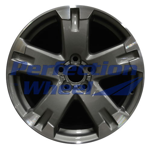 WAO.69509 18x7.5 Medium Metalic Charcoal Machined