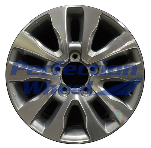 WAO.69533 20x8 Blueish Metallic Silver Machined