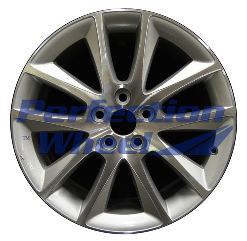 WAO.69546 18x7 Medium Sparkle Silver Machined