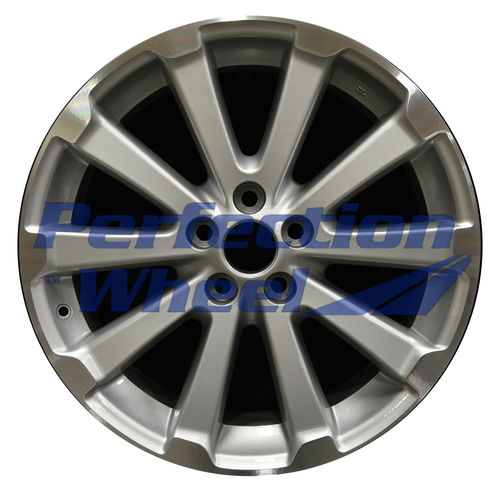 WAO.69557 19x7.5 Bright Fine silver Machined