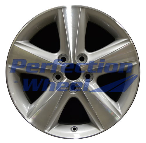 WAO.69566 17x7 Bright fine metallic silver Machined