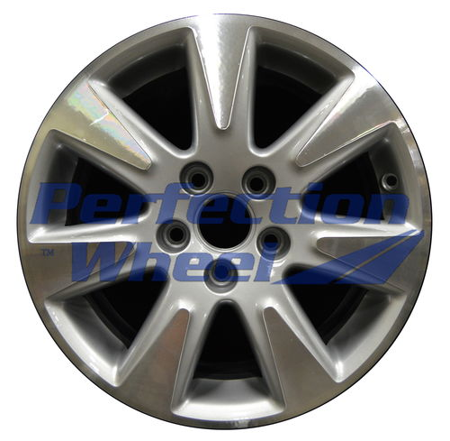 WAO.69826 16x7 Bright fine metallic silver Machined
