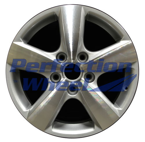 WAO.69884 17x6.5 Bright sparkle silver Machined