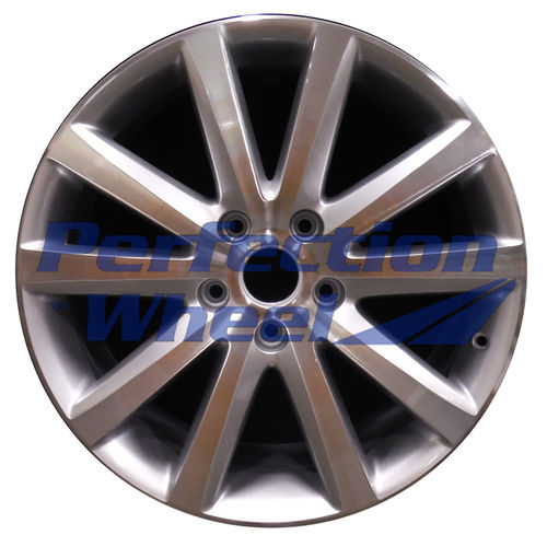 WAO.69901 20x9 Fine bright silver Machined