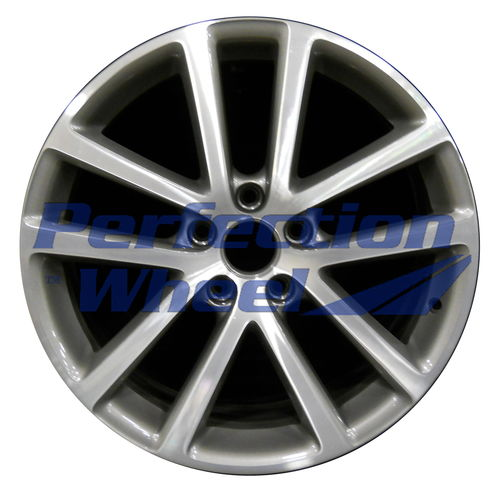 WAO.69909 18x7.5 Light Charcoal Machined