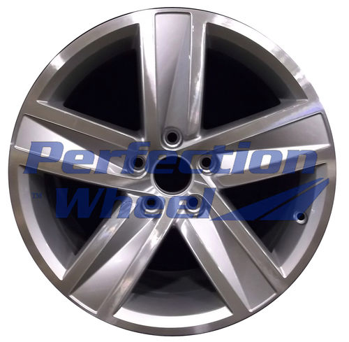WAO.69951 17x8 Fine bright silver Machined
