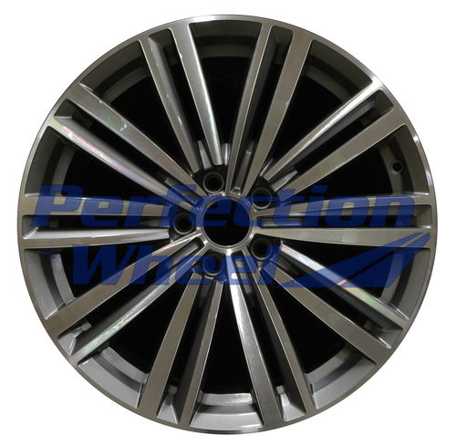 WAO.69983 19x8 Blueish Silver Machined Bright