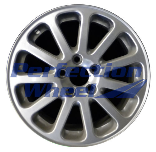 WAO.70210 16x7 Metallic Silver Full Face
