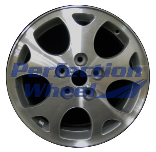WAO.7022 16x6.5 Medium Sparkle Silver Machined