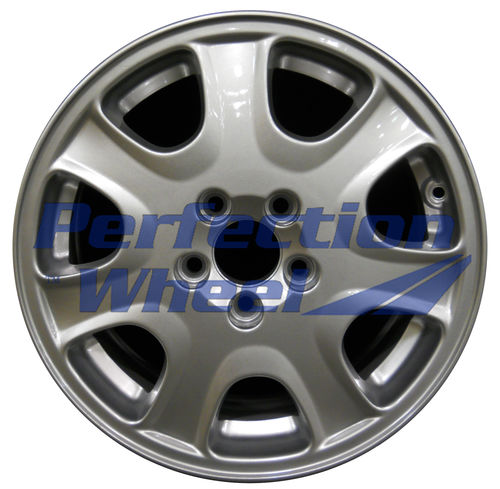 WAO.70245 16x7 Bright Metallic Silver Full Face