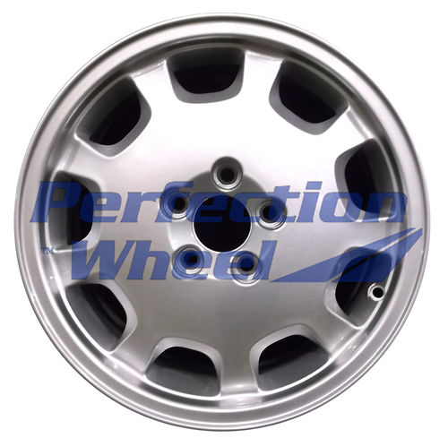 WAO.70250 16x7 Bright Metallic Silver Full Face