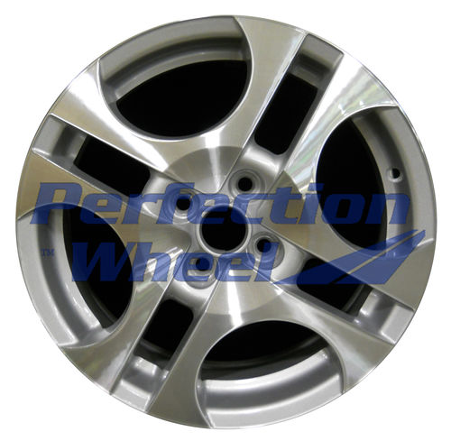WAO.7030 16x6 Bright Medium Sparkle Silver Machined
