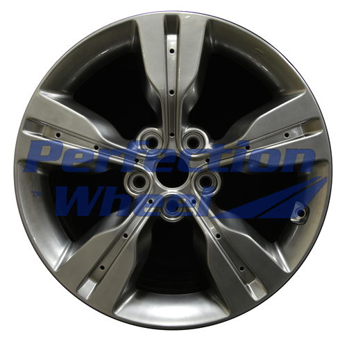 WAO.70813 18x7.5 Hyper Bright Smoked Silver Full Face