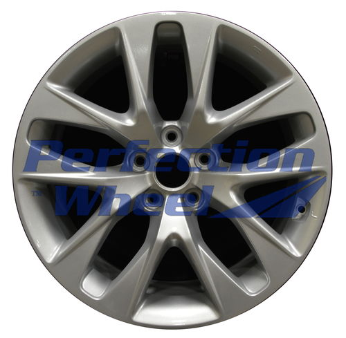 WAO.70839FT 18x7.5 Bright metallic silver Full Face