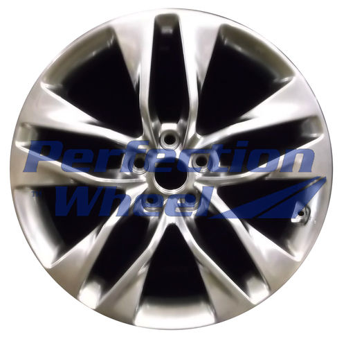 WAO.70842RE 19x8.5 Hyper Bright Smoked Silver Full Face