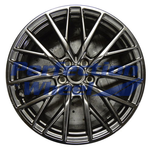 WAO.70931RE 19x9 Hyper Dark Smoked Silver Full Face