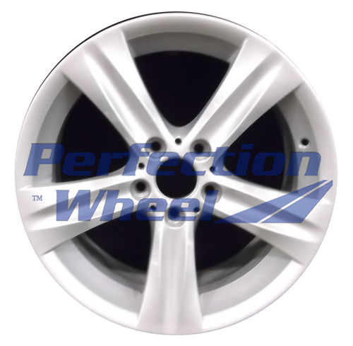 WAO.71187FT 18x8 Fine Sparkle Silver Full Face