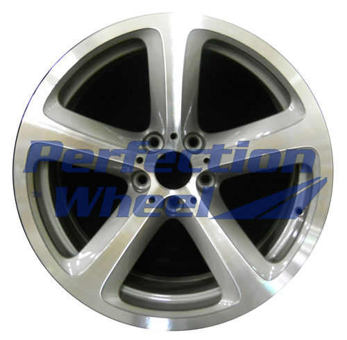 WAO.71217RE 19x9 Light Charcoal Machined Bright