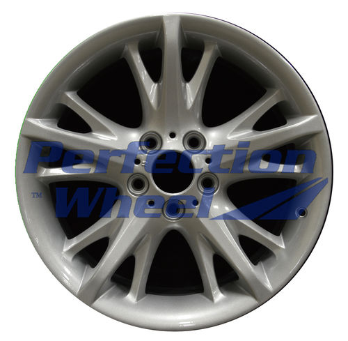 WAO.71220RE 18x8.5 Medium Sparkle Silver Full Face