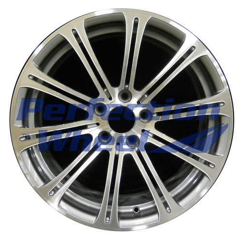 WAO.71234FT 19x8.5 Light Charcoal Machined Bright
