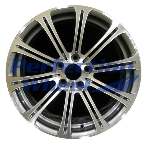 WAO.71235RE 19x9.5 Light Charcoal Machined Bright