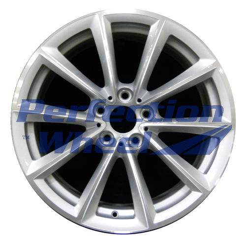WAO.71361FT 19x8 Medium Sparkle Silver Machined