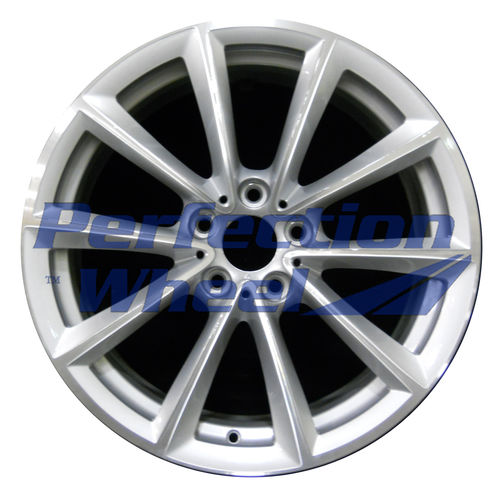 WAO.71363RE 19x9 Medium Sparkle Silver Machined