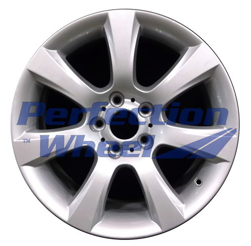 WAO.71405FT 18x8 Metallic Silver Full Face