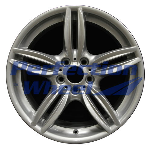WAO.71414FT 19x8.5 Fine bright silver Full Face