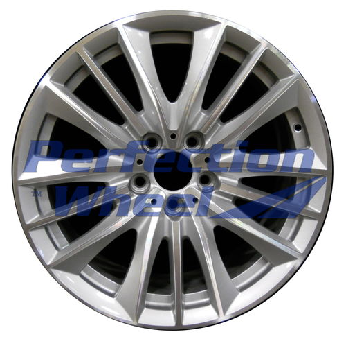 WAO.71417FT 19x8.5 Metallic Silver Machined
