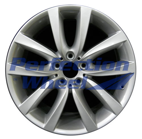 WAO.71420RE 19x9 Bright medium silver Full Face