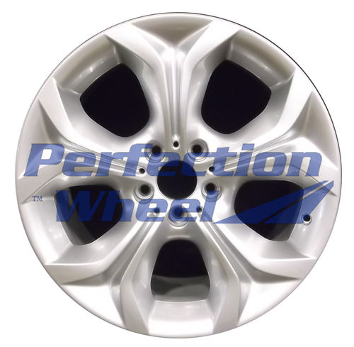 WAO.71441FT 19x9 Bright metallic silver Full Face