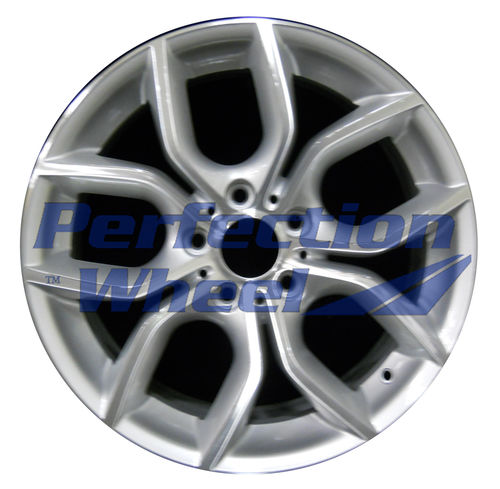 WAO.71477 18x8 Bright fine silver Machined