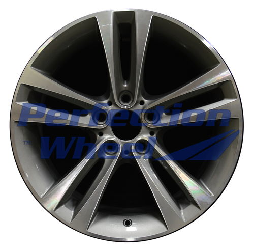 WAO.71540 18x8 Medium Metallic Charcoal Machined