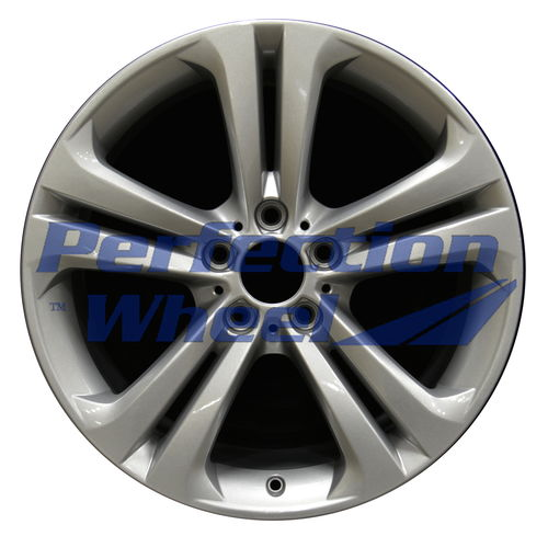 WAO.71547RE 19x8.5 Medium Sparkle Silver Full Face