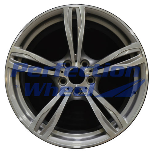 WAO.71577FT 20x9.5 Medium Metallic Charcoal Machined Bright