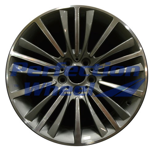 WAO.71582FT 19x8.5 Gray Charcoal Machined Bright