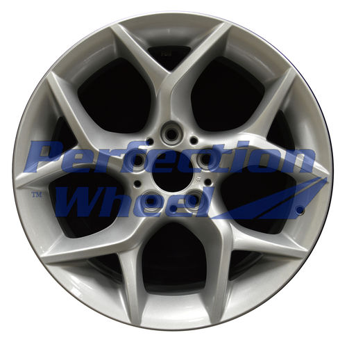 WAO.71600 18x8 Medium Sparkle Silver Full Face