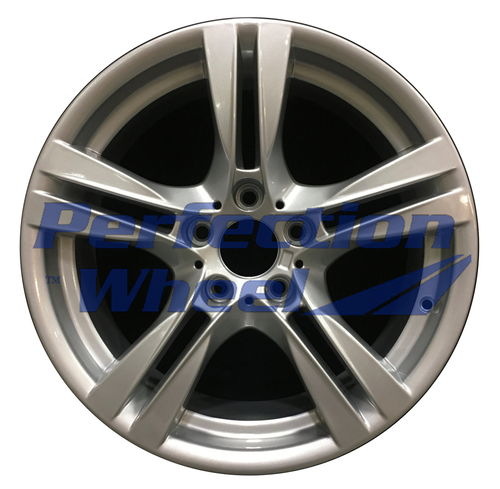 WAO.71605RE 18x9 Medium Silver Full Face