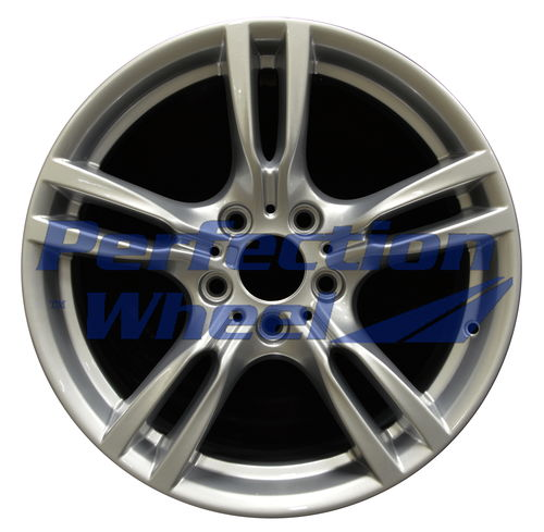 WAO.71616FT 18x8 Hyper Bright Silver Full Face