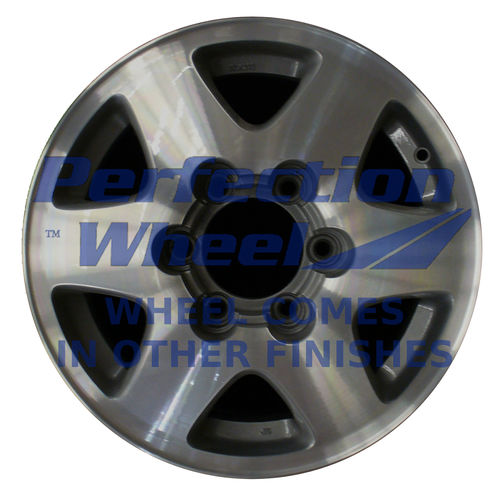 WAO.71685 16x7 Bright Medium Sparkle Silver Machined