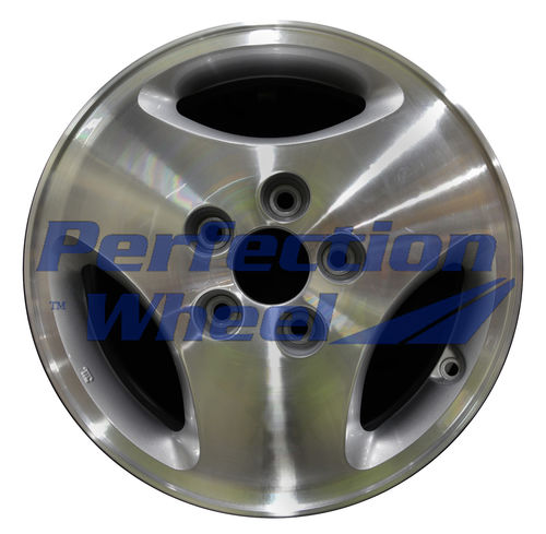 WAO.71694 15x6.5 Medium Sparkle Silver Machined