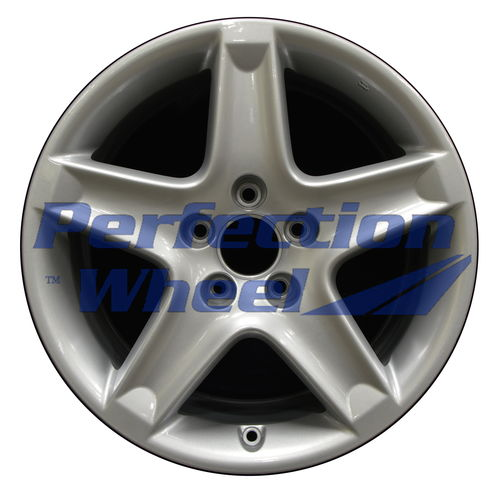 WAO.71733 17x8 Bright fine metallic silver Full Face
